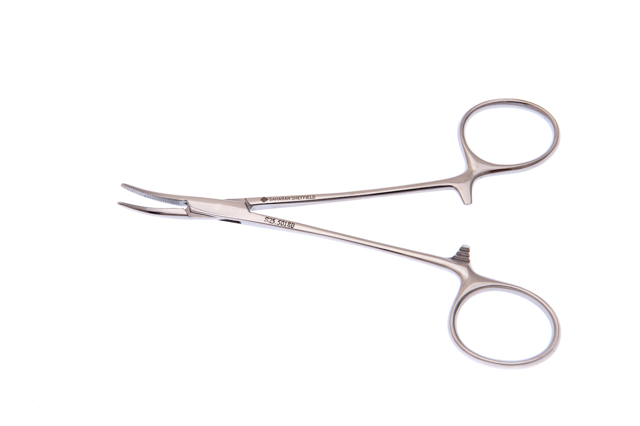 MOSQUITO ARTERY FORCEPS Featherweight FINE Box Joint CURVED