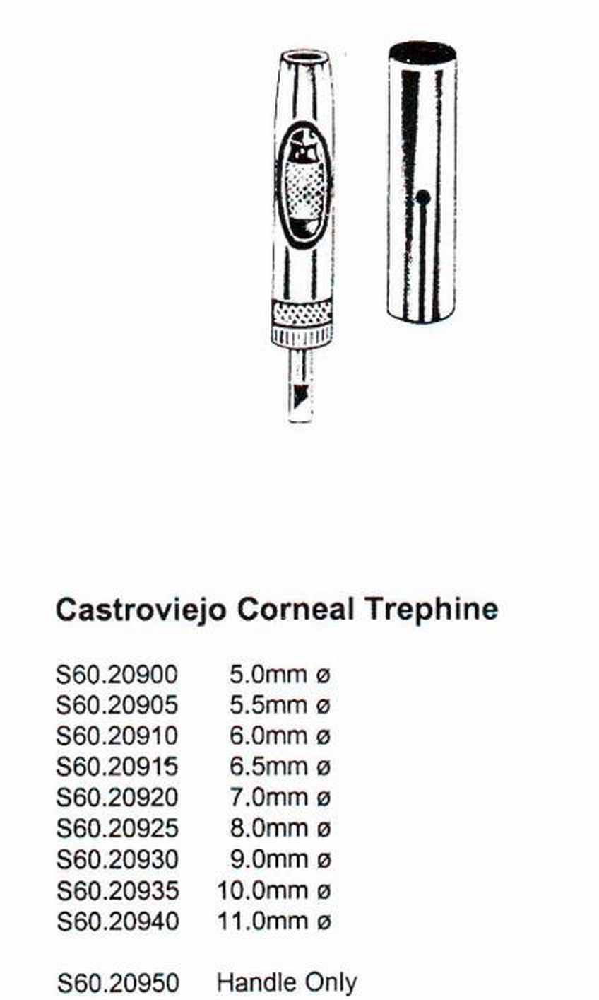 Ophthalmic Trephine CASTROVIEJO COR...